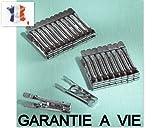 Wäscheklammern, Edelstahl, hergestellt  in Frankreich, lebenslange Herstellergarantie , 12 Stück