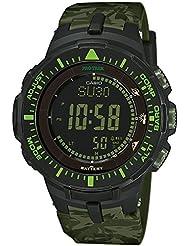 Casio Sport Pro Trek Herrenuhr Digital Quartz Resin Grün PRG-300CM-3ER