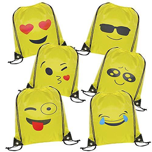 ack, 6 Packs Drucken Rucksack Party Favors für Kindergeburtstag Gastgeschenk Party Mitgebsel Geschenk ()