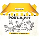 Port-a-Pet Medium Cardboard Pet Carrier 33 x 20 x 20cm