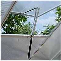 Apertura automática de las ventanas para invernadero lucarne refugio jardín lève-fenêtre automático ventilación solar sensible al calor techo abierto ventana, carga max 7kg