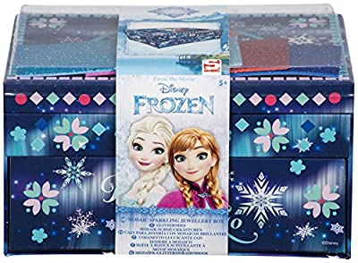 Limited Edition Frozen Sparkling Jewellery Box - Design your own Jewellery box with Sparkling mosaics and gem stones - Perfect present por Disney-Frozen