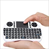 OPSLEA Mini Teclado inalámbrico con Mouse Touchpad Combos Recargables para PC, Pad, Google Android TV Box y más