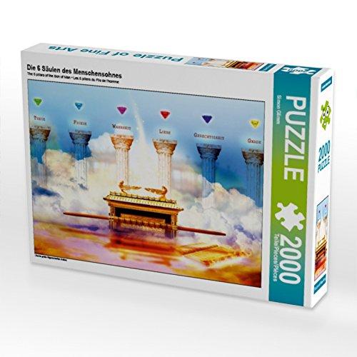 Bild Herrlichkeit (CALVENDO Puzzle Die 6 Säulen des Menschensohnes 2000 Teile Lege-Größe 90 x 67 cm Foto-Puzzle Bild von Simon Glimm)