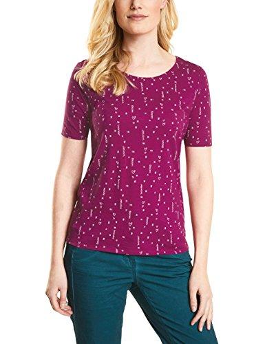 Cecil Damen 311882 T-Shirt, Magic pink, Large