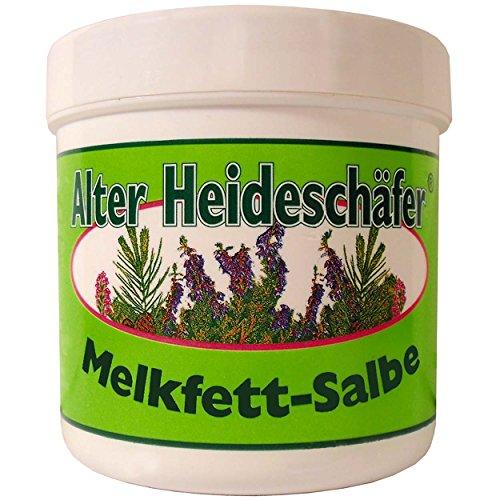 Alter Heideschäfer 5er Vorteilspack Melkfett Salbe, 5 Dosen a 250ml