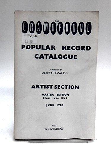 The Gramophone Popular Record Catalogue