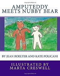 Amputeddy Meets Nubby Bear
