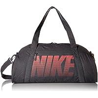 Nike W NK GYM Club Bolsa de Deporte, Mujer, Gris (Dark Grey/Dark Grey/Sea Coral), Talla Única