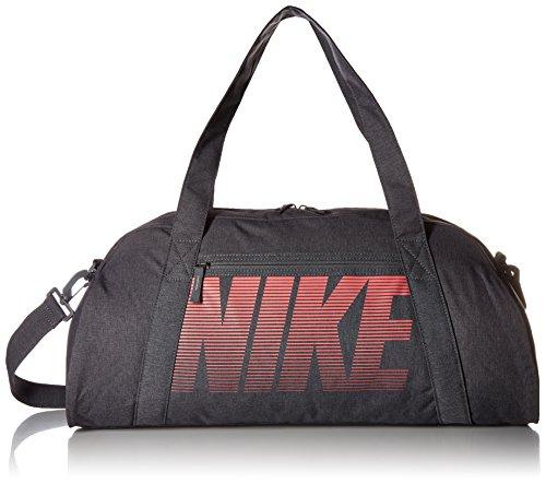 Nike W Nk Gym Club Bolsa de Gimnasio, Mujer, Gris (Dark Grey/Sea Coral), Talla única