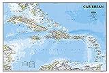 Karibik Classic, laminiert: NATIONAL GEOGRAPHIC Länder und