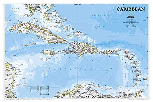 Karibik Classic, laminiert: NATIONAL GEOGRAPHIC Länder und Regionen (National Geographic Reference Map) -