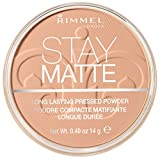 Best Rimmel Shine Control For Faces - Rimmel Stay Matte Pressed Powder, Silky Beige, 0.49 Review