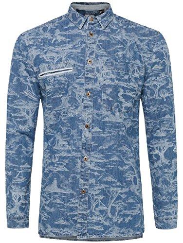 Herren Hemd lang O'Neill O'Riginals Explore Hemd blue aop