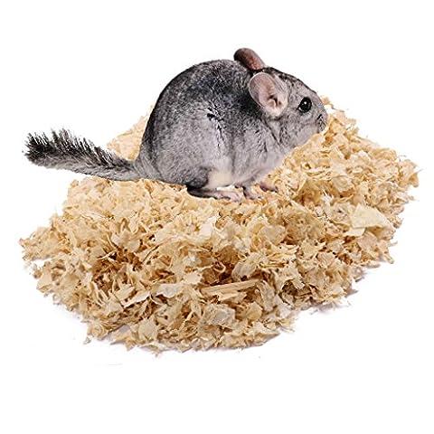 500g Holzspäne Sägespäne Tiere Hamster Meerschweinchen Bettwäsche Zucht