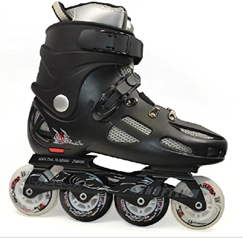 Beauty leader Zweisseihige Canvas Schlittschuhe Roller Schuhe Erwachsene Inline Skates Für Frauen und Männer