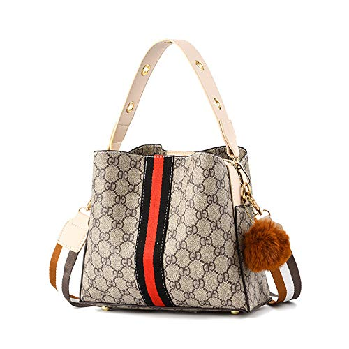 Sacs FemmeSacs Lettre Lettre Grande capacité épaule épaule Messenger Bag, Khak