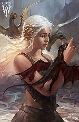 Game of Thrones - Daenerys Targaryen man cave Fridge Toolbox Magnet
