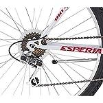 Esperia-Bicicletta-mountain-bike-MTB-Uomo-Bianco-26
