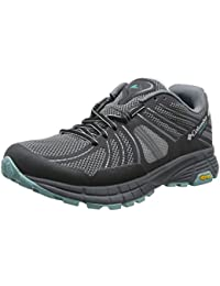 Columbia Mojave Outdry, Chaussures de Trail Femme, Grey Ash/Iceberg