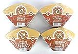 EDESIA ESPRESS - 400 filtri caffè americano in carta non sbiancata - forma a cono - misura 2