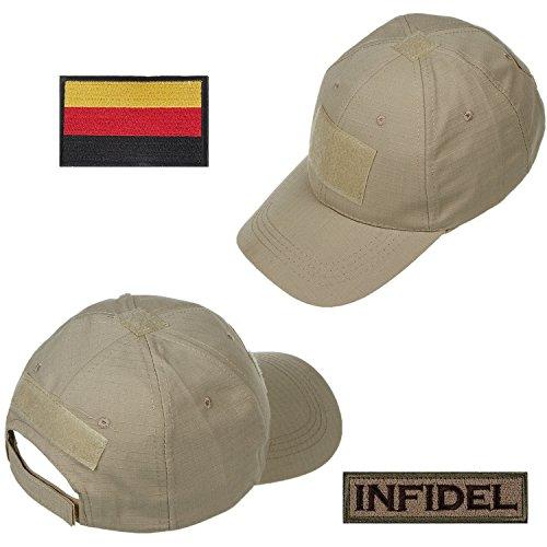 108aff277c0123 Xidan FM8 Herren Mesh Taktische Kappe Sport Baseball Militär Tarnung Sonne  Hüte Kappe mit Deutschland Flagge