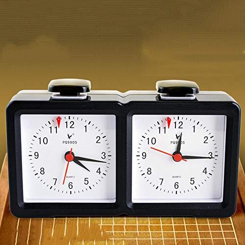 happygirr Analoge Schachuhr | Digitaler multifunktionaler Schachuhr-Timer, Competition Game Clock Pro - Countdown Countdown-Zähler