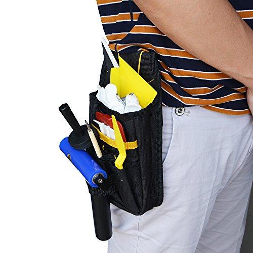Ehdis® Professionelle Multi-Purpose Werkzeugtasche Werkzeughalter Organizer Mini Arbeits Organizer Heavy-Duty Klein für Auto-Haus Tint Window Film Worker - 4