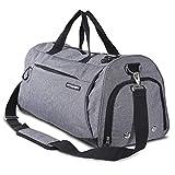 Fitgriff Sporttasche mit Schuhfach und Nassfach - kleine Sport- oder Reisetasche für Männer und Frauen - Gym Bag Small: 48cm x 26cm x 25cm [30 Liter]
