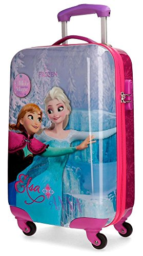 Disney Magic Equipaje infantil, 55 cm, 33 Litros, Multicolor
