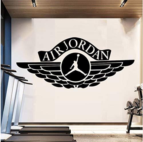 aufkleber Pvc Wandtattoos Mode Moderne Kunst Wohnzimmer Kinderzimmer Gym Wand DecaKunst Auto 100 * 50 Cm ()