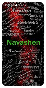 Navashen (The One Who Brings Hope) Name & Sign Printed All over customize & Personalized!! Protective back cover for your Smart Phone : Lenovo A6010 / A6010 Plus