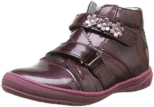 GBBNicoleta - Sneaker Bambina , Rosso (Rouge (36 Vnv Bordo Dpf/2813)), 25