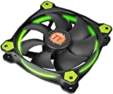 Thermaltake Riing 12 LED - Ventilador de 120 mm, Color Verde