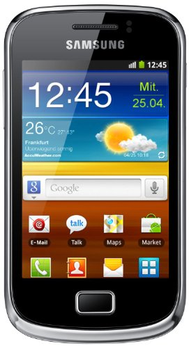 Samsung Galaxy mini 2 S6500 Smartphone (8,31 cm (3,27 Zoll) TFT-Touchscreen, 3,0 Megapixel Kamera, Android 2.3) - Touchscreen Samsung Galaxy S2