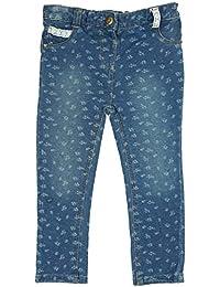 filles bébé en âge BAS entièrement petites imprimé fleur JEANS jeans tailles de 6 mois pour 4 ans