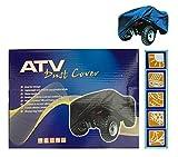 Bresetech Praktische Quad ABDECKPLANE Quadgarage Quad Cover Garage Faltgarage Abdeckung Wasserdicht Gr. XL
