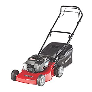 MOUNTFIELD SP185 45CM 125CC SELF-PROPELLED ROTARY PETROL LAWN MOWER. High Quality and Easy To Use