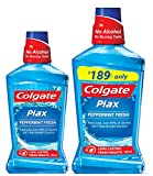 #5: Colgate Plax Mouthwash - 250 ml (Peppermint) with Plax Mouthwash - 500 ml (Peppermint)