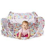 Bébé Voyage Lit Bébé Tente Moustiquaire Moustiquaires pour bébés Pliant portable lit Berceau Portable 0-18 Mois (style 4)