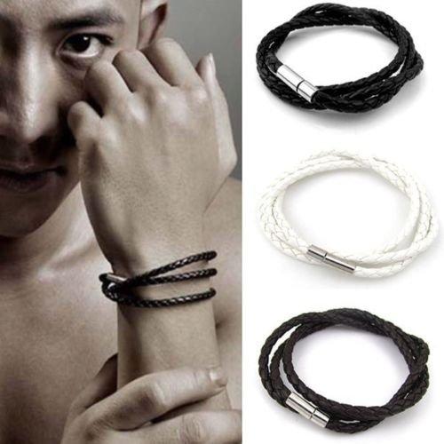 ilovediy-multilayer-corde-bracelet-acier-inoxydable-cuir-tresse-homme-et-femme-3-tours-fermoir-magne