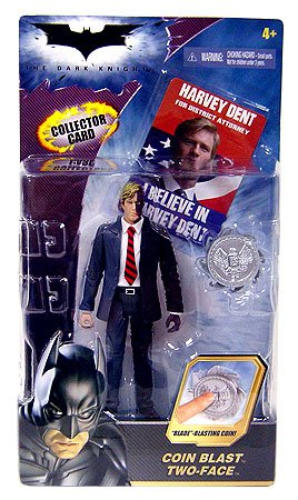 rk Knight - Hero DC Zone - Coin Blast TWO-FACE - Movie Action Figur - Special Edition - incl. Collector Card - OVP ()