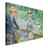 Bilderwelten Stampa su tela - Berthe Morisot - Summer's Day - orizzontale 2:3 quadri su tela quadro su tela quadri quadri tela Stampa su tela - tela stampe su tela tela canvas quadri moderni, Misura (AxL):60cm x 90cm