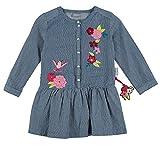 Sigikid Mädchen Kleid Jeanskleid, Mini, Blau (Denim Light Blue 590), 110