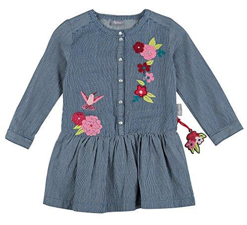 Sigikid Mädchen Jeanskleid, Mini Kleid, Blau (Denim Light Blue 590), 104 (Denim Kleid Langarm)