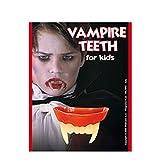 NET TOYS Denti da Vampiro per Bambini Ideali per Un Costume di Halloween o per completare Vestito da Dracula