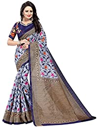 Kanchan Textiles Art Silk Cotton Blend Saree With Blouse Piece (Multicolour, Free Size)