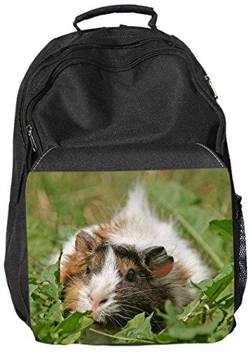 +++ MEERSCHWEINCHEN - Schwarzer RUCKSACK Rucksäcke Backpack Bag - MRS 05
