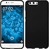 PhoneNatic Case für Huawei Honor 6a Hülle Silikon schwarz matt Cover Honor 6a Tasche Case