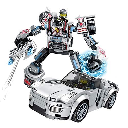 Kinder Verformungsspielzeug, Verformungsroboter-Modell, Roboter Spielzeug, Kinder 5-jähriger Junge DIY montierte Bausteine   Lernspielzeug, Kinder Weihnachtsgeschenke
